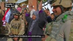 Mosul Celebrates After IS Driven Out