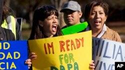 2015年的移民改革集会游行