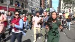 Bolos Sekolah Protes Perubahan Iklim di New York