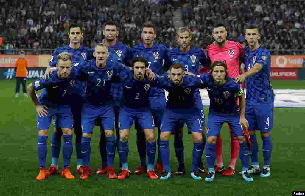Xorvatiyanın futbol komandası