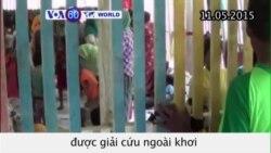 Giải cứu 1.400 di dân Myanmar và Bangladesh trên biển (VOA60)
