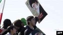 Người Iran hôm nay tham gia những cuộc mít tinh trên cả nước để đánh dấu cuộc cách mạng Hồi giáo năm 1979