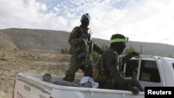 在敘利亞哈薩卡市作戰的庫爾德人民保衛隊(YPG)成員。(資料照)