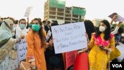 په پاکستان کې د جنسي تېري عاملانو ته د سختې سزا غوښتنه شوې ده