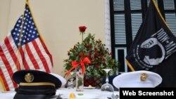 Ngày Tưởng niệm Tù binh và Người mất tích tại Đại sứ quán Hoa Kỳ Hà Nội. Photo US Embassy Hanoi