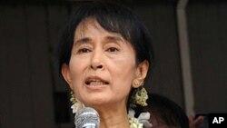 Burma democracy icon Aung San Suu Kyi (File Photo).