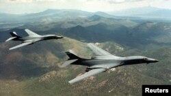 Бомбардировщики B-1B Lancer
