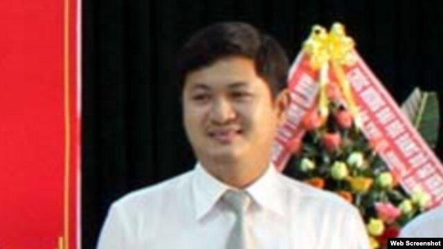 Ông Lê Phước Hoài Bảo, 30 tuổi, được bổ nhiệm làm giám đốc Sở Kế hoạch - Đầu tư tỉnh Quảng Nam. (Ảnh chụp từ trang web vnexpress)