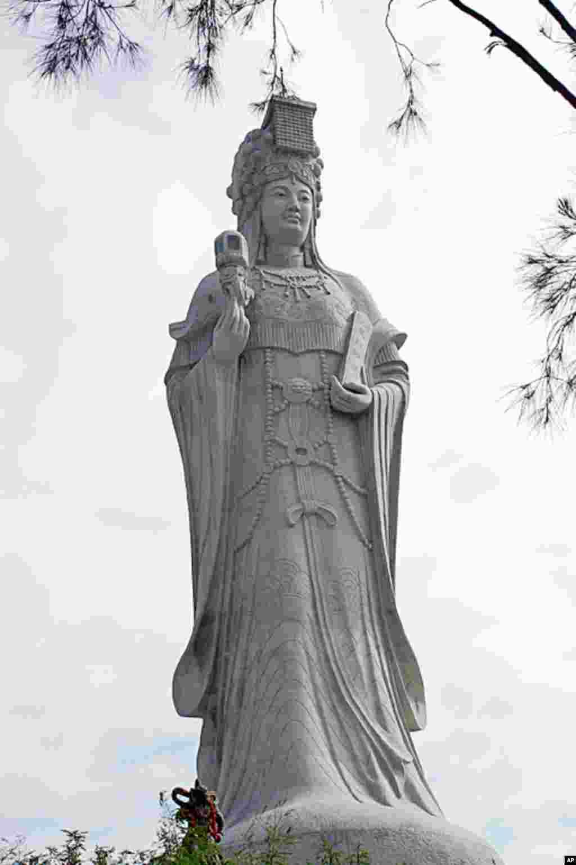 全世界最高的妈祖巨神像在马祖