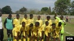 Đổi tuyển bóng đá nữ zimbabwe (ảnh tư liệu)