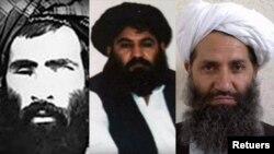 Mullah Omar, Mullah Akhtar Mansour, Mullah Haibatullah Akhundzada