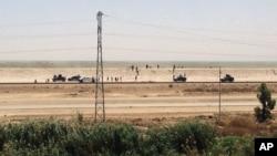 伊拉克保安部队2015年5月17日撤出拉马迪市
