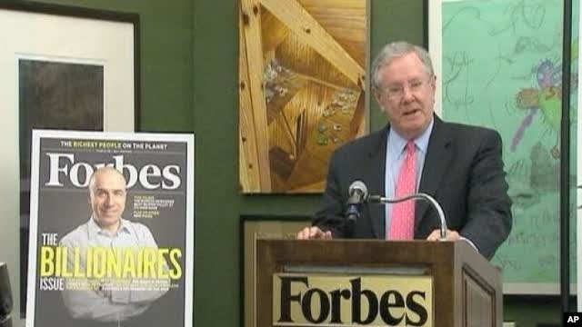 Forbe's Magazine chairman Steve Forbes