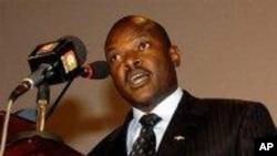 Rais Nkurunziza wa Burundi