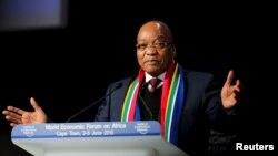 Jacob Zuma le 4 juin 2015. (Reuters/Sumaya Hisham)