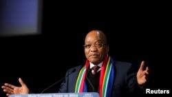 Jacob Zuma à Cape Town, le 4 juin 2015. (Reuters/Sumaya Hisham)