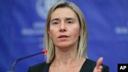 Visoka predstavnica EU Federika Mogerini
