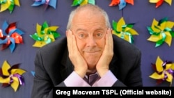 Author Gyles Brandreth has written a new book The Seven Secrets of Happiness