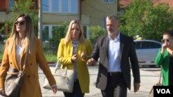 Naser Orić i branioci dolaze u Sud Bosne i Hercegovine, 8. maj 2018.