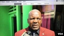 Angola Namibe Secretário da UNITA Domingos da Graça Mizé