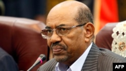 Sudan's President Omar al-Bashir speaks during a one-day summit in Khartoum, Sept. 3, 2013.
