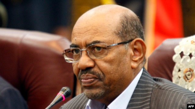 Sudan's President Omar al-Bashir speaks during a one-day summit in Khartoum, Sept. 3, 2013