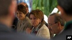 En el encuentro, los legisladores estadounidenses plantearon el tema de las violaciones a los derechos humanos de parte del régimen.