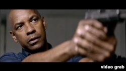Denzel Washington in a scene from the new movie, 'The Equalizer 2.'