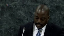 Allocution du President Joseph Kabila de la Republique Democratique du Congo