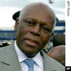 Angola President Jose Eduardo dos Santos