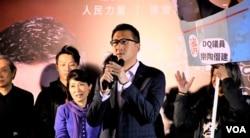民主党立法会议员林卓廷 (美国之音/汤惠芸)