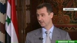 Syria's Assad Talks to Russia Today