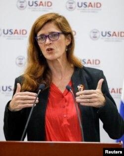Kepala USAID, Samantha Power (foto dok. Reuters)