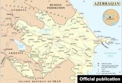 Azərbaycanın xəritəsi