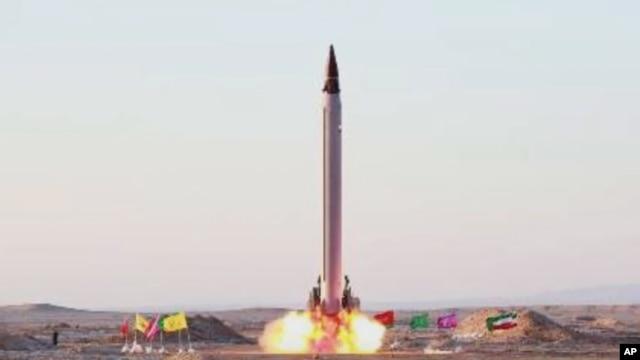 Запуск иранской баллистической ракеты (архивное фото)