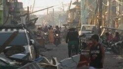 Philippines Defending Typhoon Relief Efforts