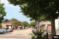 史密斯菲尔德镇的主要街道