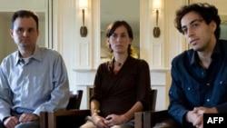 خانواده بازداشت شدگان آمریکایی در یک مصاحبه در نیویورک