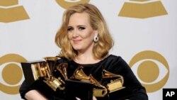 ผลรางวัลแกรมมี่ครั้งที่ 54 – Adele คว้ารางวัลอัลบั้มยอดเยี่ยมแห่งปี
