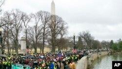 Хода активістів в Вашингтоні на честь дня Мартіна Лютера Кінґа, 2017