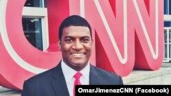 Phóng viên Omar Jimenez của CNN.
