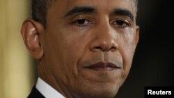 Tổng thống Obama trong cuộc họp báo đầu tiên sau khi tái đắc cử.