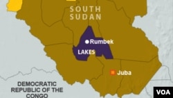 A spokesman for the South Sudan army says fighting spread to the relatively peaceful Lakes state on Monday, Jan. 19, 2015.