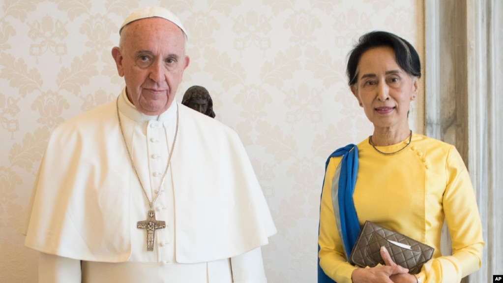 Image result for Pope Francis visited Burma