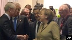 歐盟各國領袖星期一討論解決歐債危機
