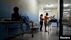 Hospital cerca de Petare, en Caracas.