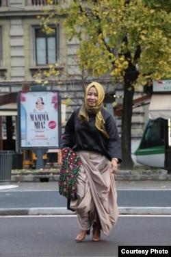 Wita Salim, warga muslim Indonesia di AS (dok: Wita Salim)