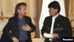 Sean Penn le pidió al presidente Morales la inmediata liberación, exoneración y regreso de Ostreicher a EE.UU.
