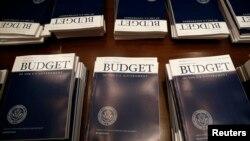 미국 백악관이 4일 상원에 제출한 2015년 예산안.