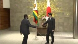 Japan Rolls Out Honorific Ceremony For Visiting Zimbabwe President